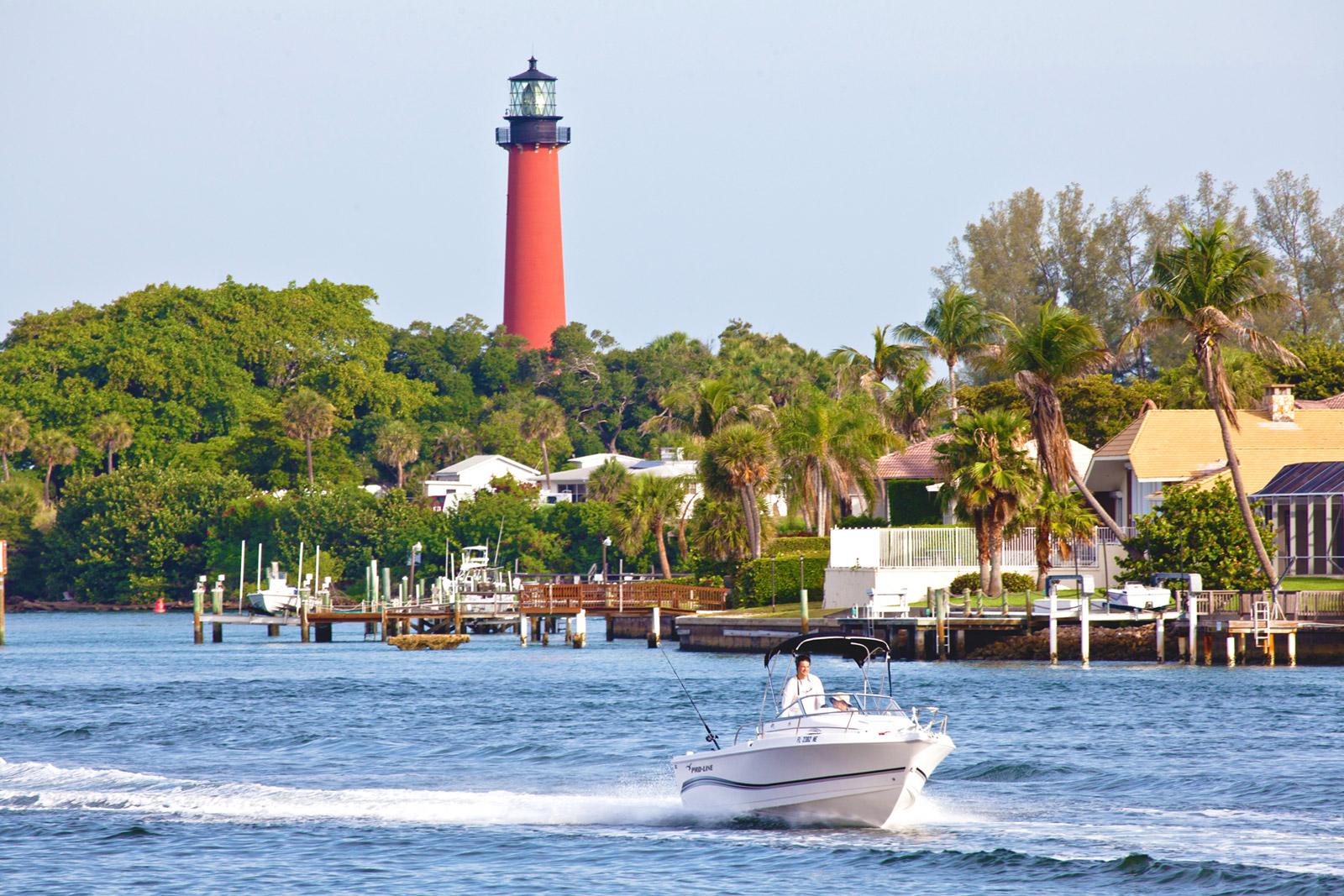Jupiter Lighthouse Boating